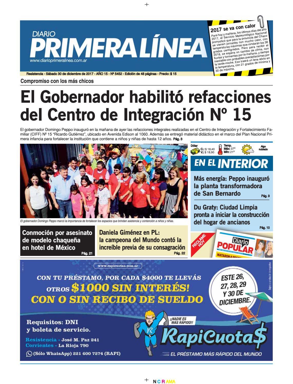 fb34509d018ba Primera Línea 5452 30 12 2017 by Diario Primera Linea - issuu