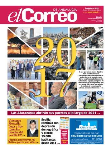 30.12.2017 El Correo de Andalucía by EL CORREO DE ANDALUCÍA S.L. - issuu e0b96eec62e