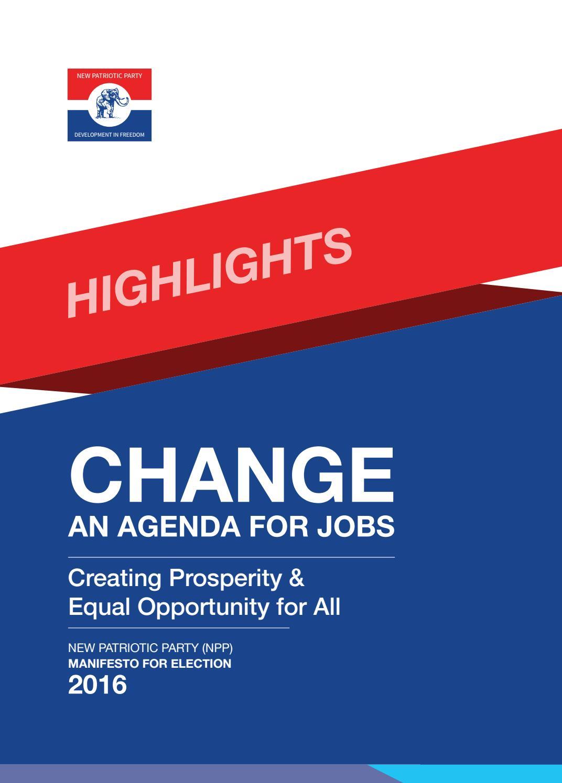 Npp 2016 manifesto by event - issuu