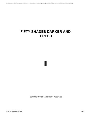 Fifty shades darker and freed by pejovideomaker4 - issuu