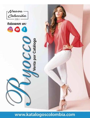 7734b7b176 Ryocco Nueva Colección  2018-1 by Katálogos Colombia - issuu