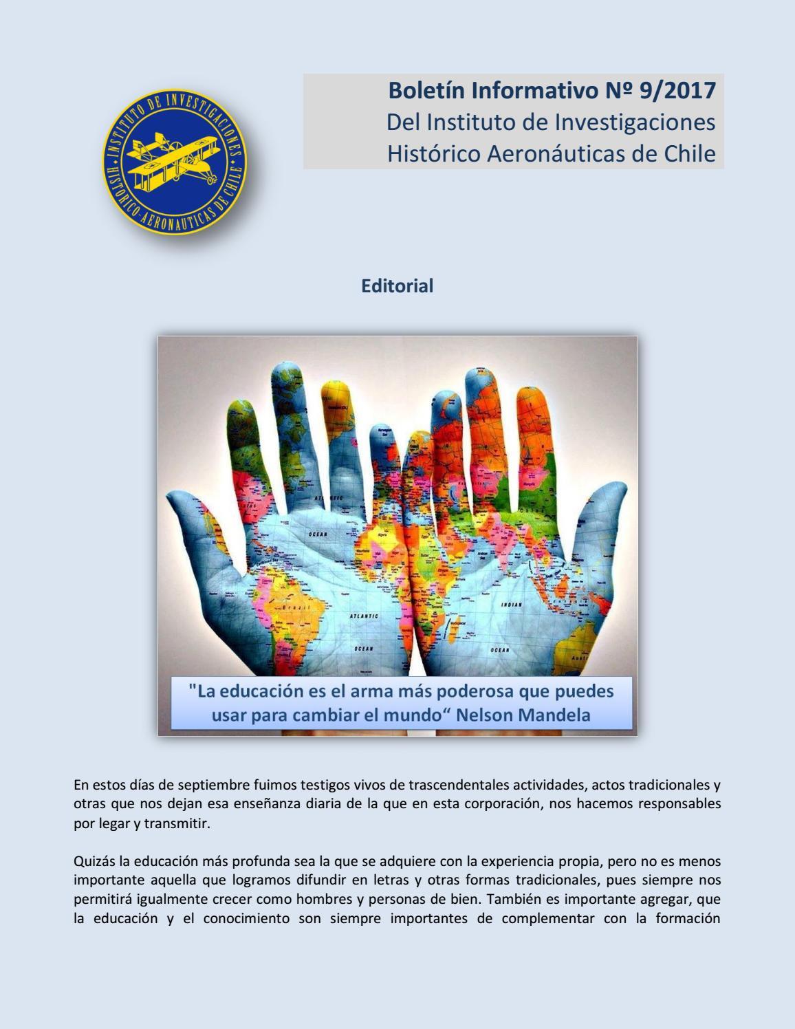 Boletín informativo IIHACH Nº9 2017 by Norberto Traub - issuu