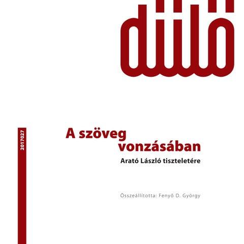9278d02efa Dűlő 027 by Műút folyóirat - issuu