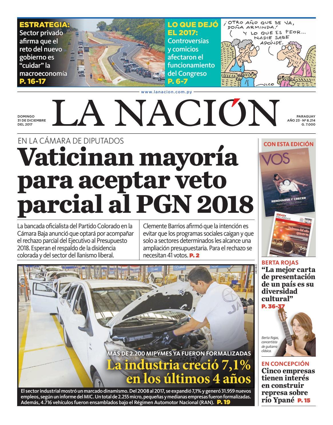 Diario La Naci N Edici N 7 623 By La Naci N Issuu # Muebles Narciso Caaguazu