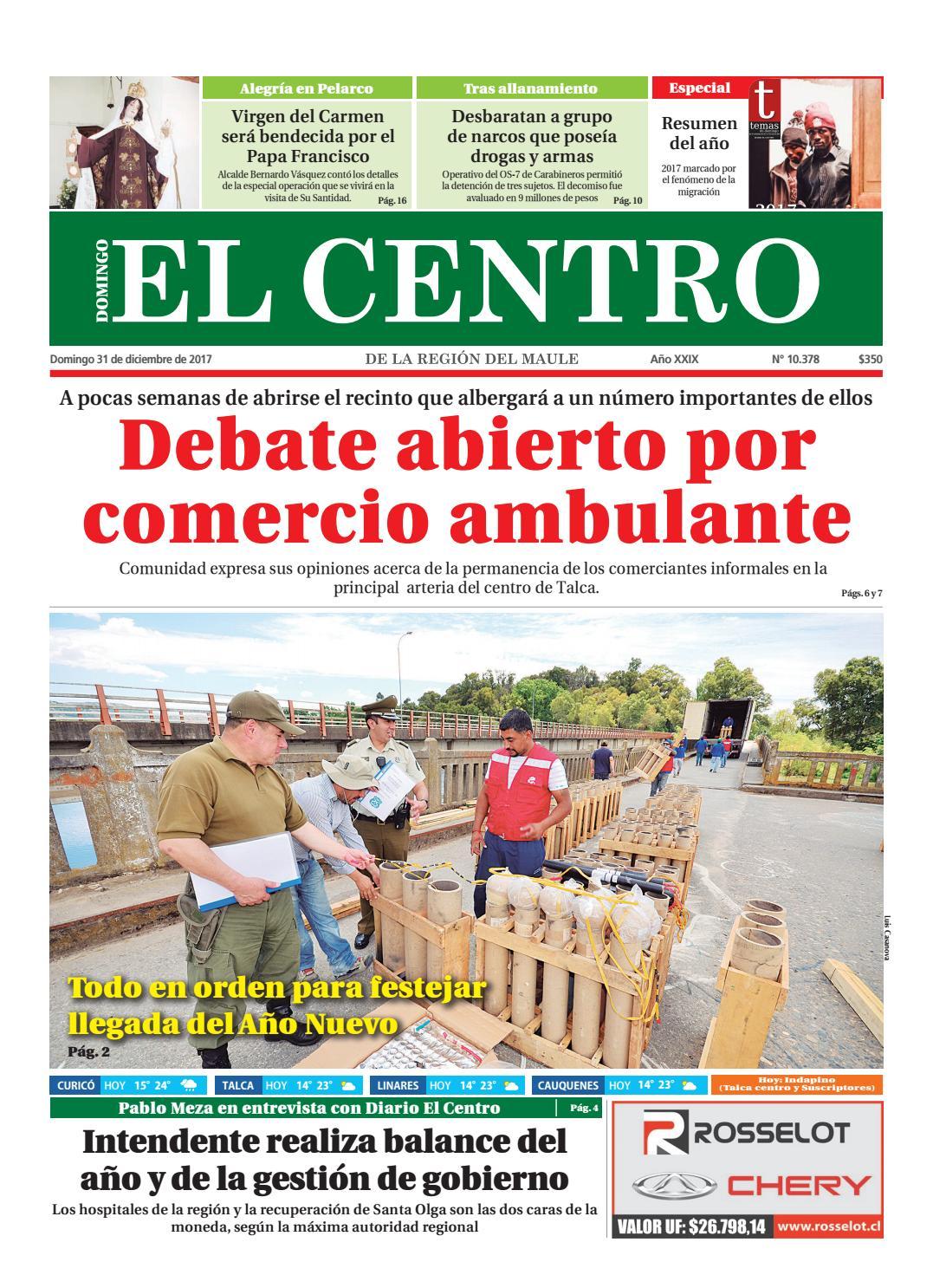 Diario 31-12-2017 by Diario El Centro S.A - issuu 0b30f56e6ee3b