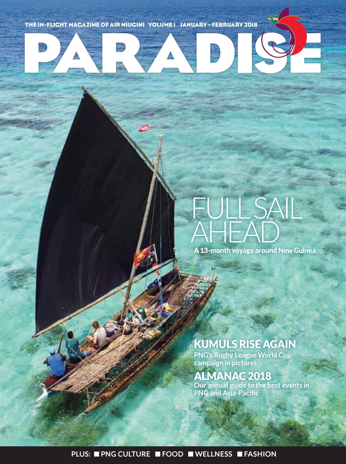 Paradise The In Flight Magazine Of Air Niugini January February Circuit Board Hedgehog Glass Sculpture By Flyingcheesetoastie 3000 2018 Business Advantage International Issuu