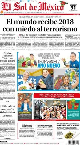 fdc84b5bb El Sol de México 31 de Diciembre de 2017 by El Sol de México - issuu