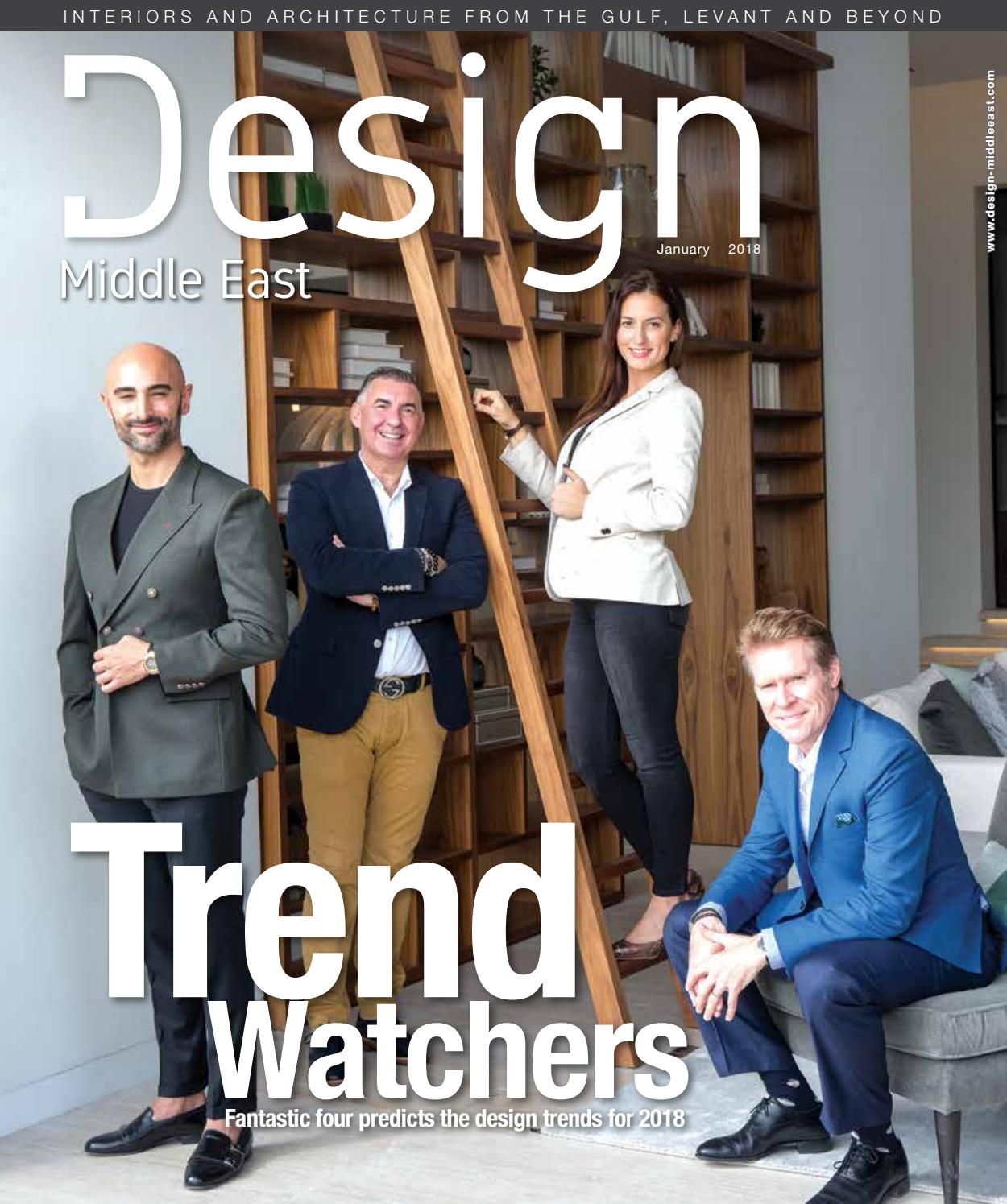 Design middle east january 2018 by design middle east issuu