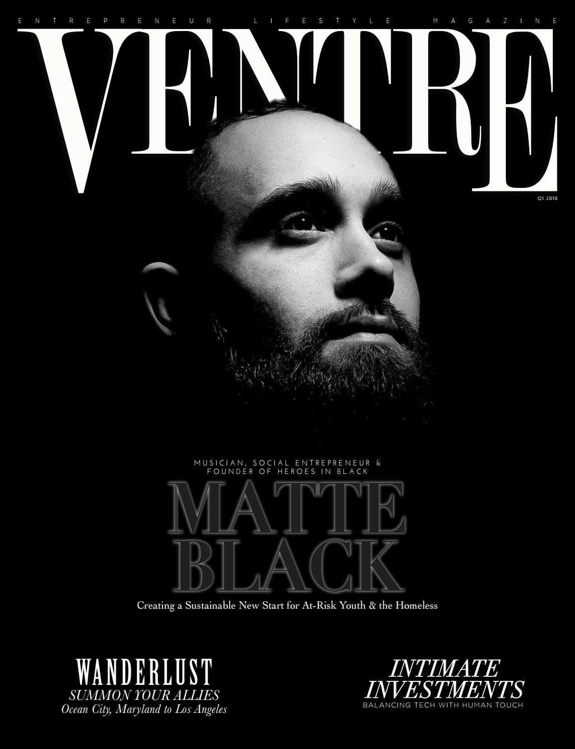 b4f4e3553ab6 Q1 2018 Issue by VENTRE Magazine - issuu