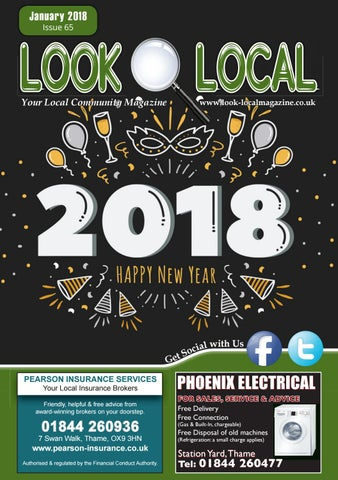 Look Local Magazine, Oxon Edition: January 2018, Issue 65 by