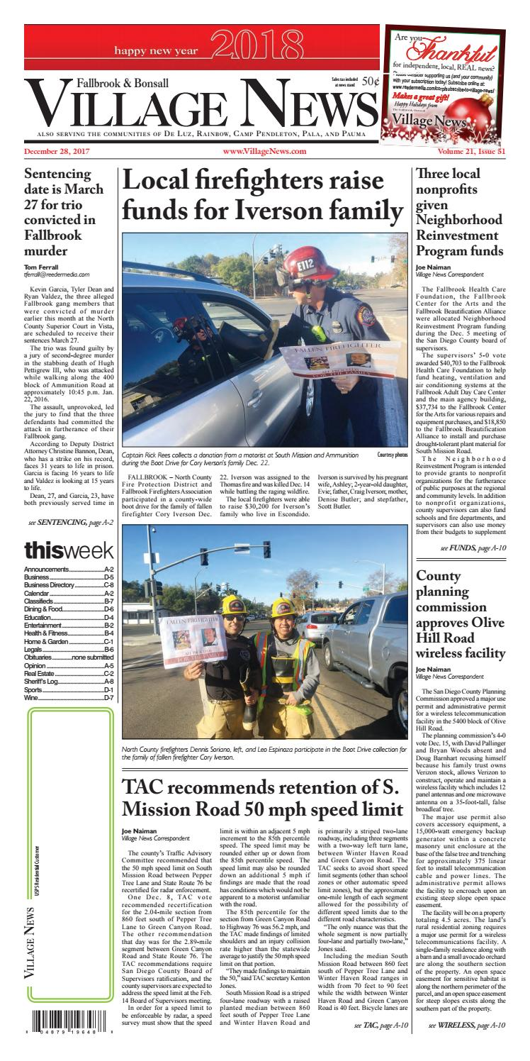 2eccf3a37b2 Fallbrook Village News by Village News