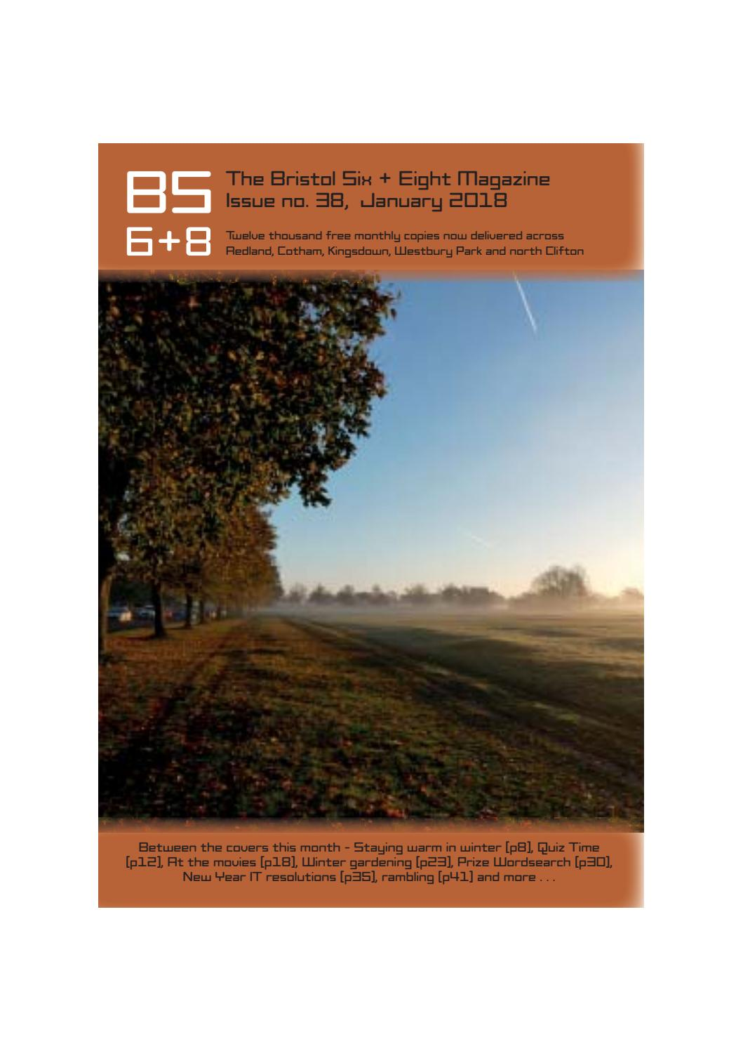 The Bristol Six + Eight magazine - January 2018 by Andy