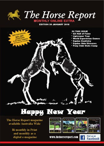 Horse report january 2018 by the horse report issuu page 1 fandeluxe Gallery