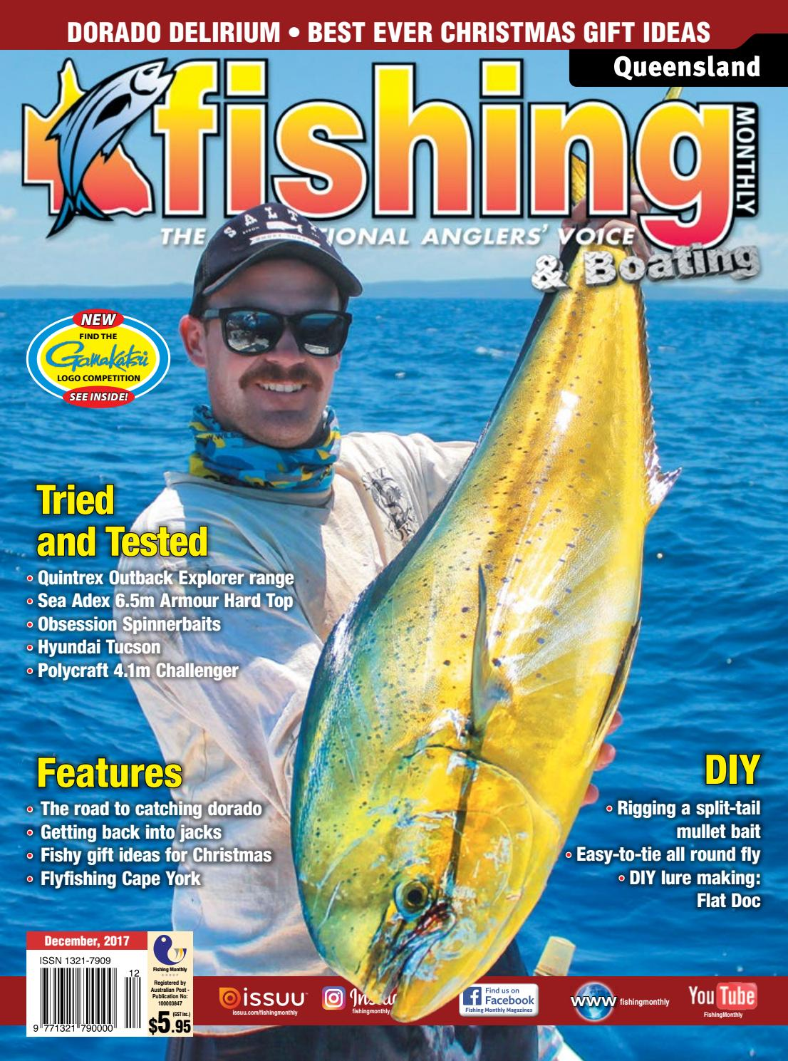 eac962ee79 Queensland Fishing Monthly December 2017 by Fishing Monthly - issuu