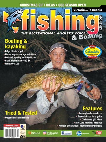 VIC/TAS FISHING MONTHLY DECEMBER 2017