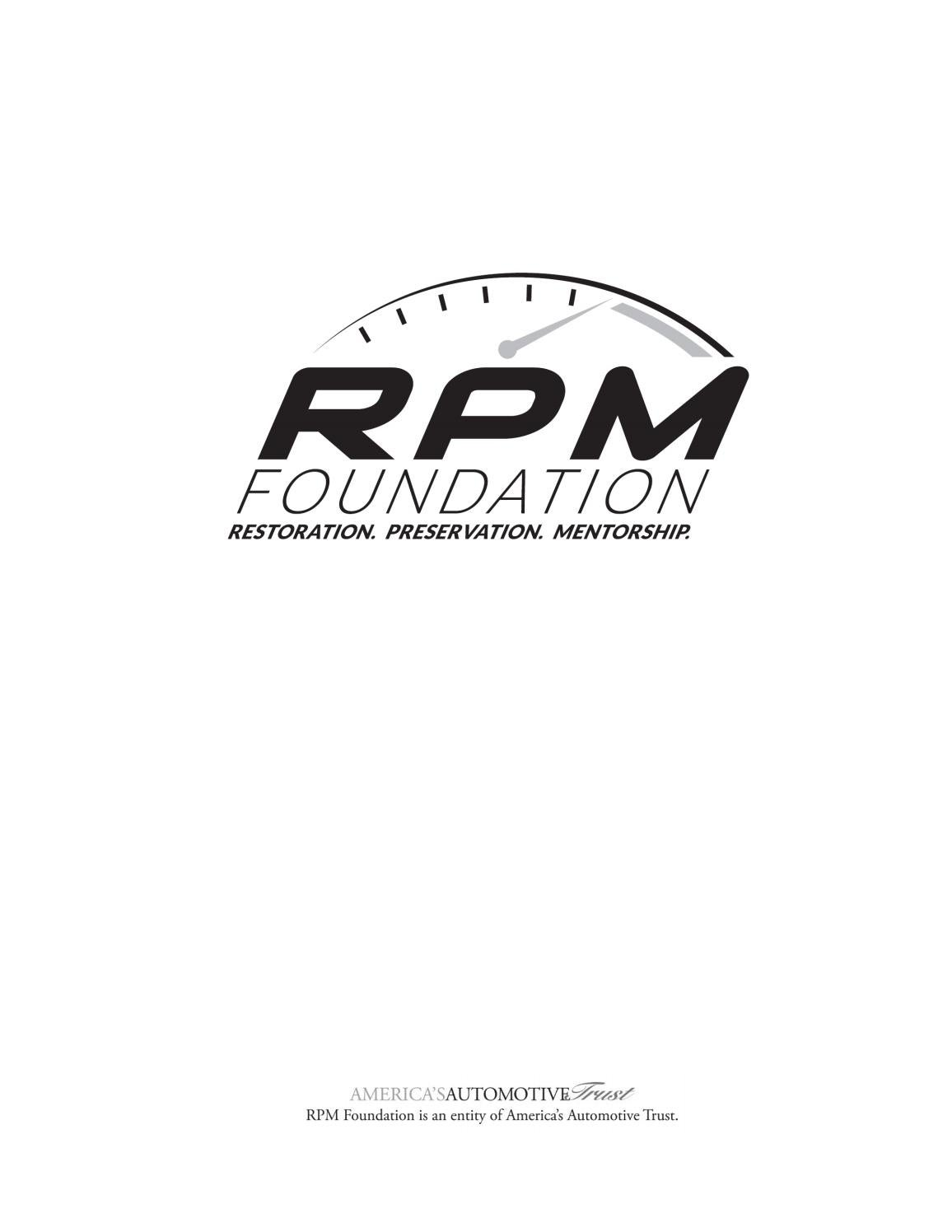 January 2018 rpm board book
