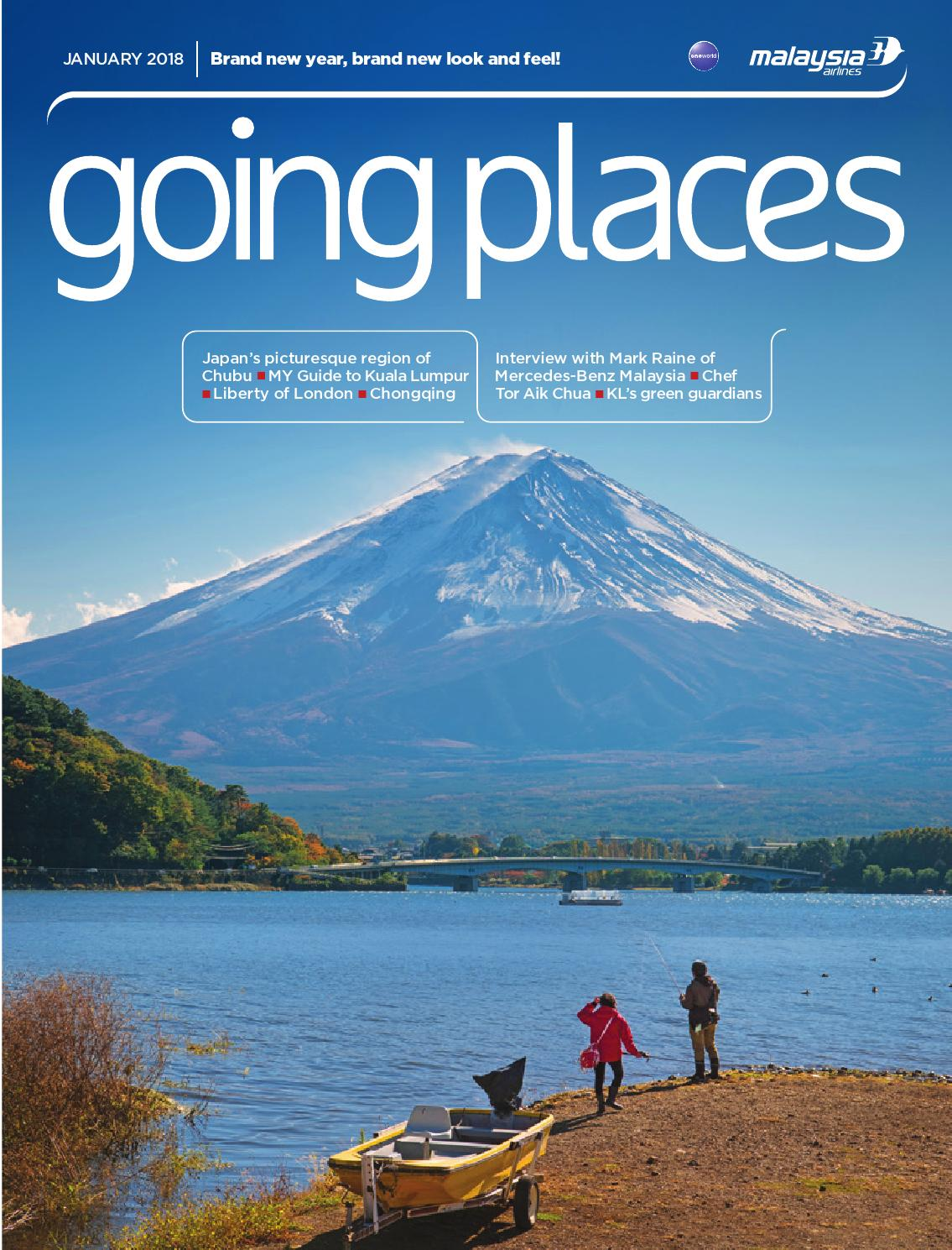 Going Places January 2018 By Spafax Issuu