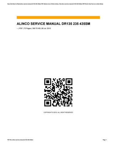 alinco service manual dr135 235 435sm by o544 issuu rh issuu com