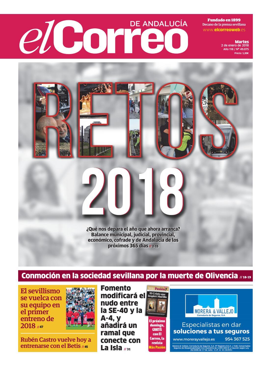d4bdff16a6dcb 02.01.2018 El Correo de Andalucía by EL CORREO DE ANDALUCÍA S.L. - issuu