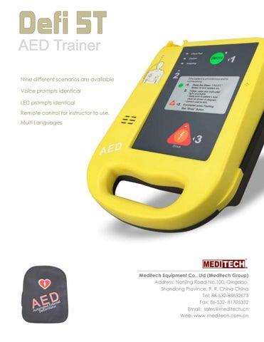 Defi5t AED trainer- Defibrillator training