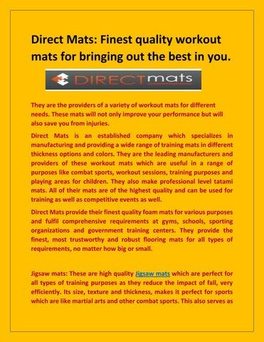 72048f34694d Direct Mats Fitness Equipments by directmats11 - issuu