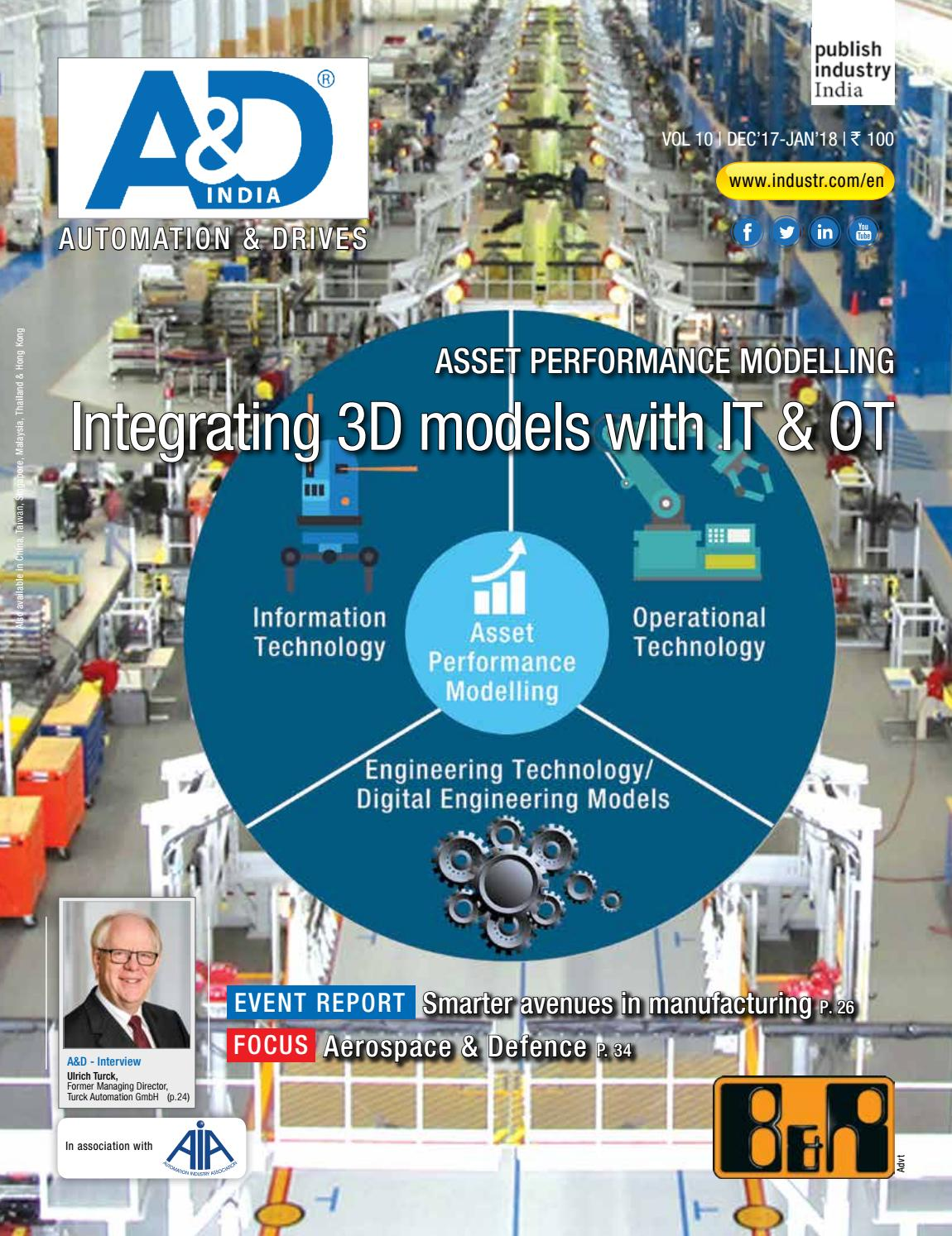 Au0026D Dec 17   Jan 18 By Publish Industry India   Issuu