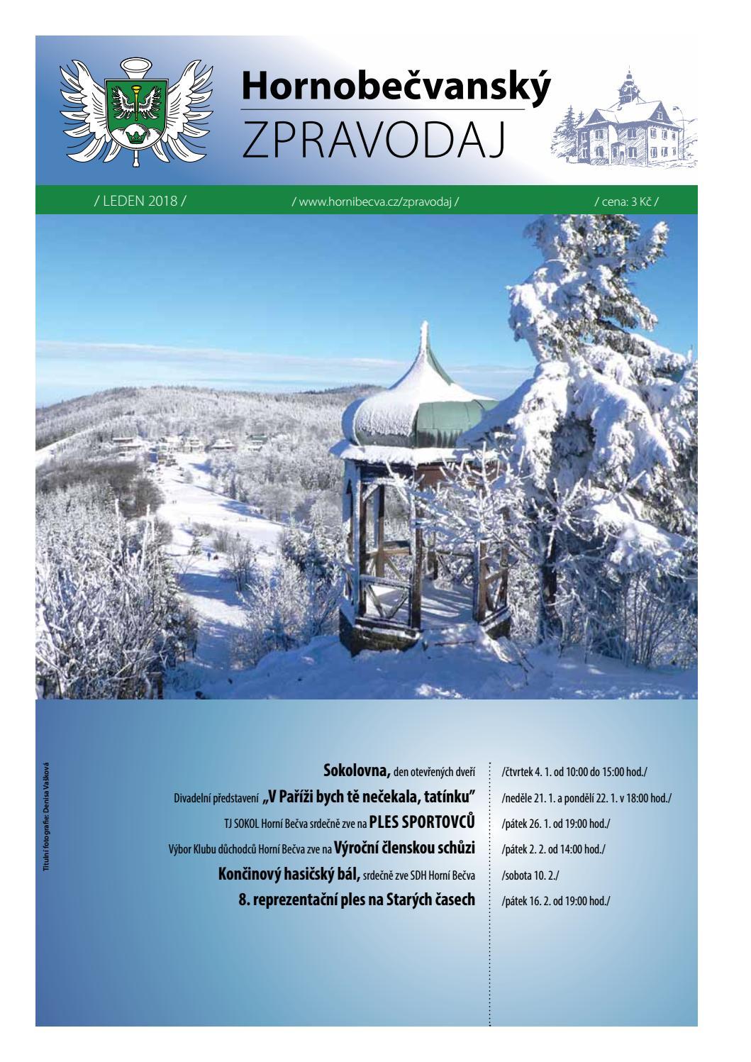 Hornobevansk zpravodaj - jen 2019 by Obec Horn Beva