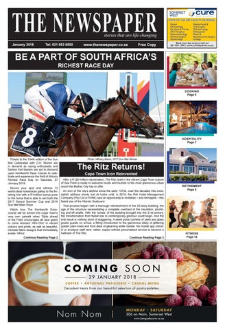 The Newspaper - January Edition 2018 by The Newspaper - issuu