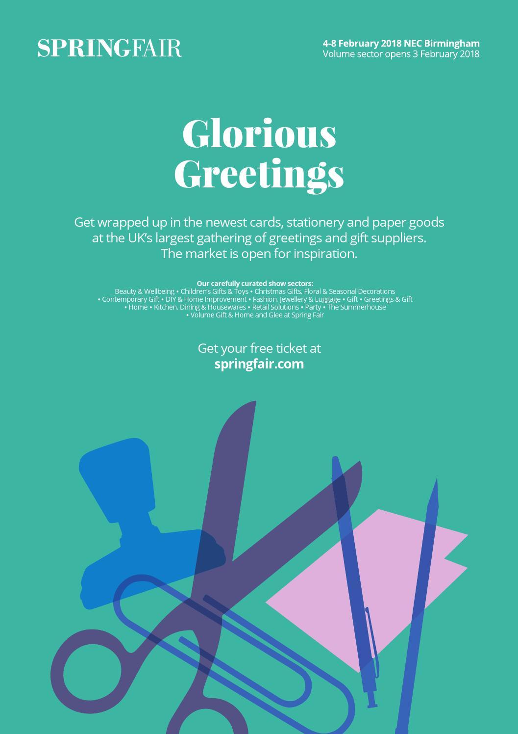 Progressive Greetings Worldwide January 2018 By Max Publishing Issuu