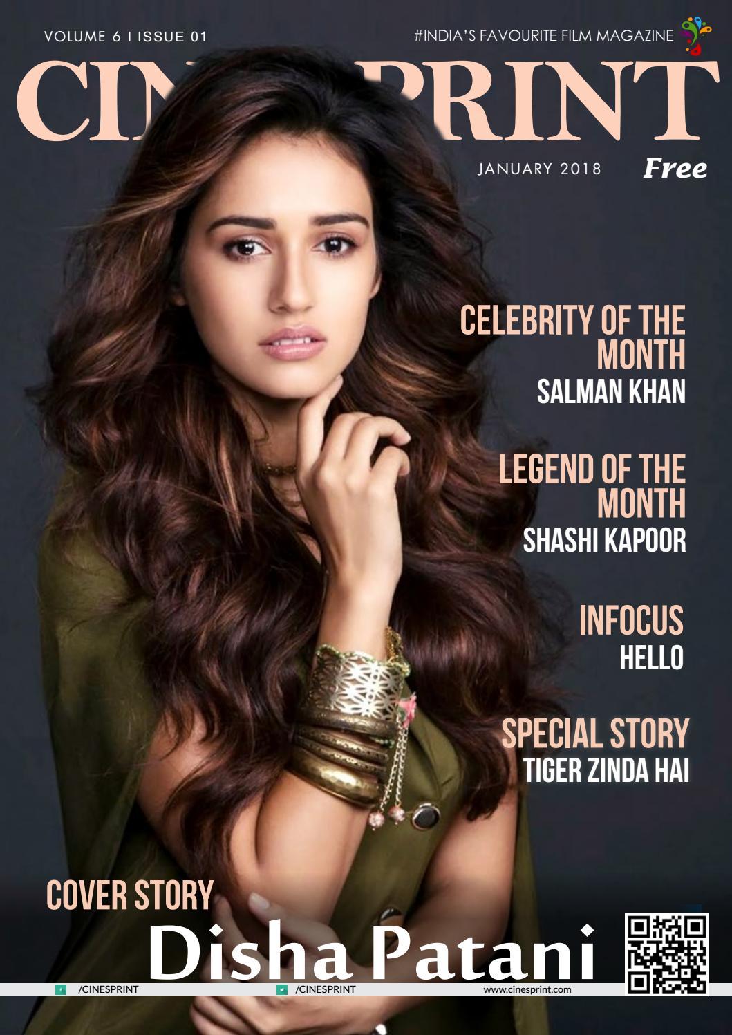 Cinesprint magazine january 2018 by Wishesh Digital Media