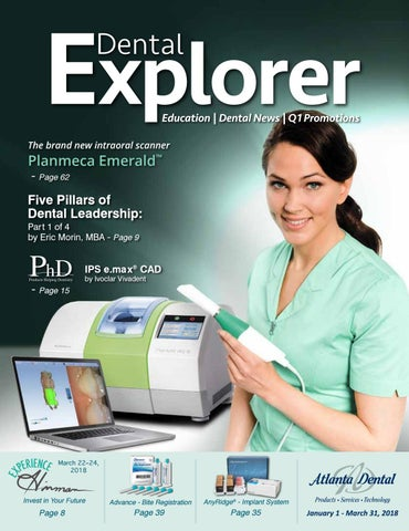 2018 Q1 Dental Explorer by Atlanta Dental Supply - issuu