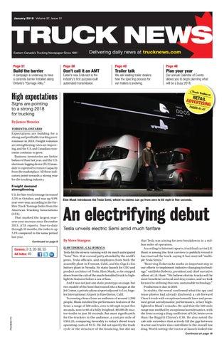 Truck News January 2018 by Annex-Newcom LP - issuu