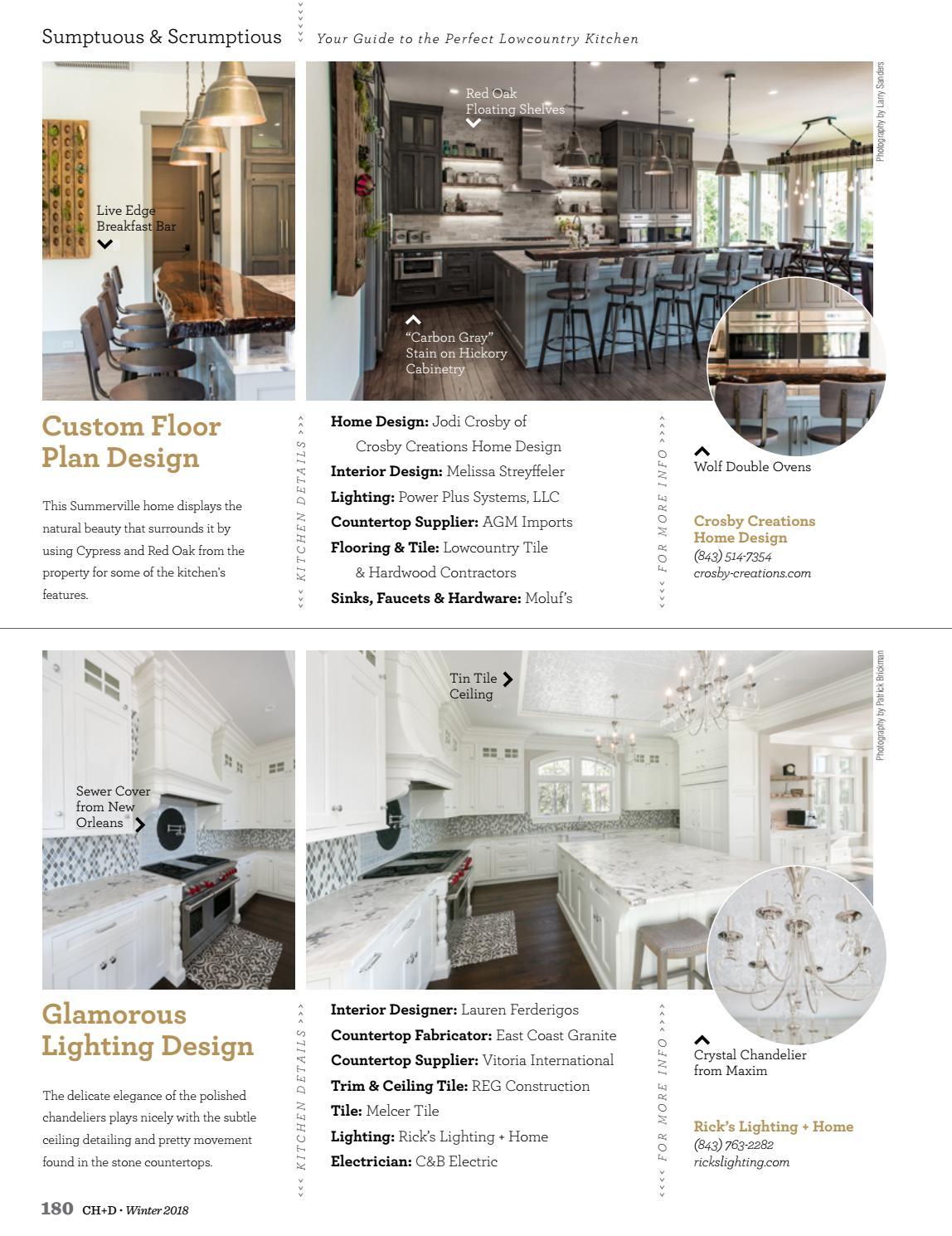 Charleston Home + Design Magazine: Winter 2018 by Charleston Home + ...