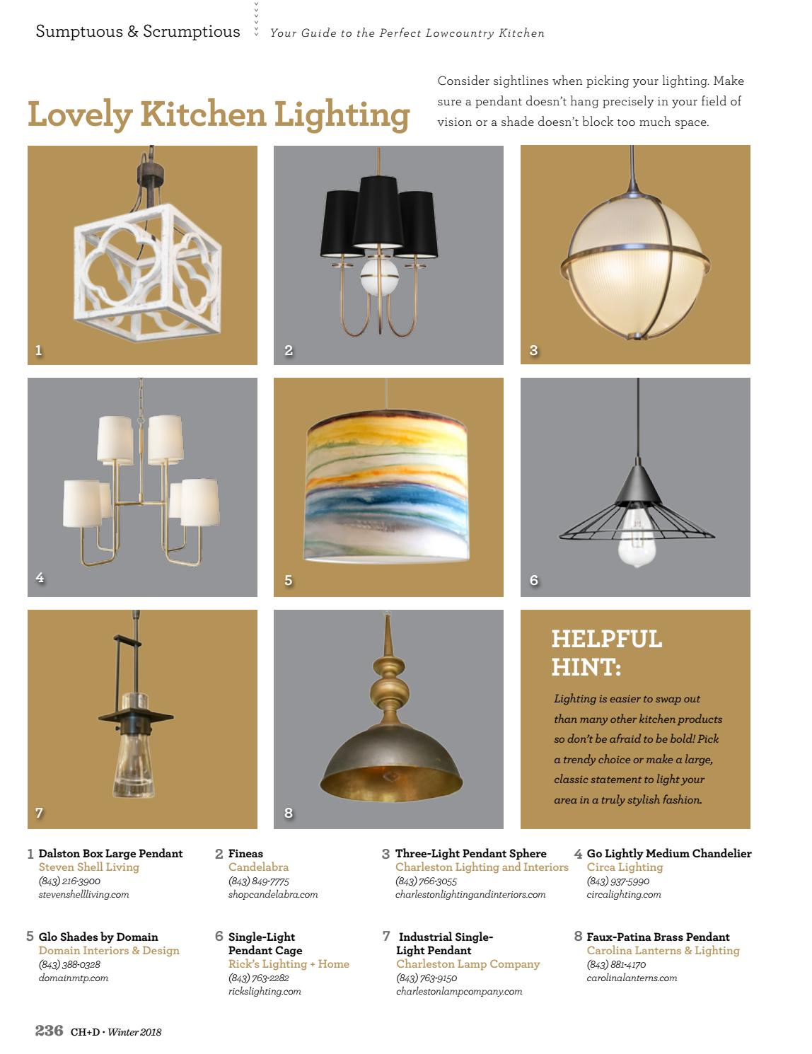 Charleston Home Design Magazine Winter 2018 By