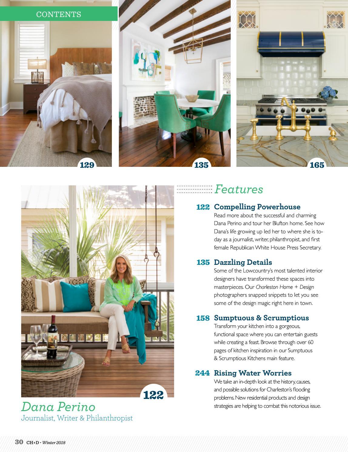 Charleston home design magazine winter 2018 by - Charleston home and design magazine ...