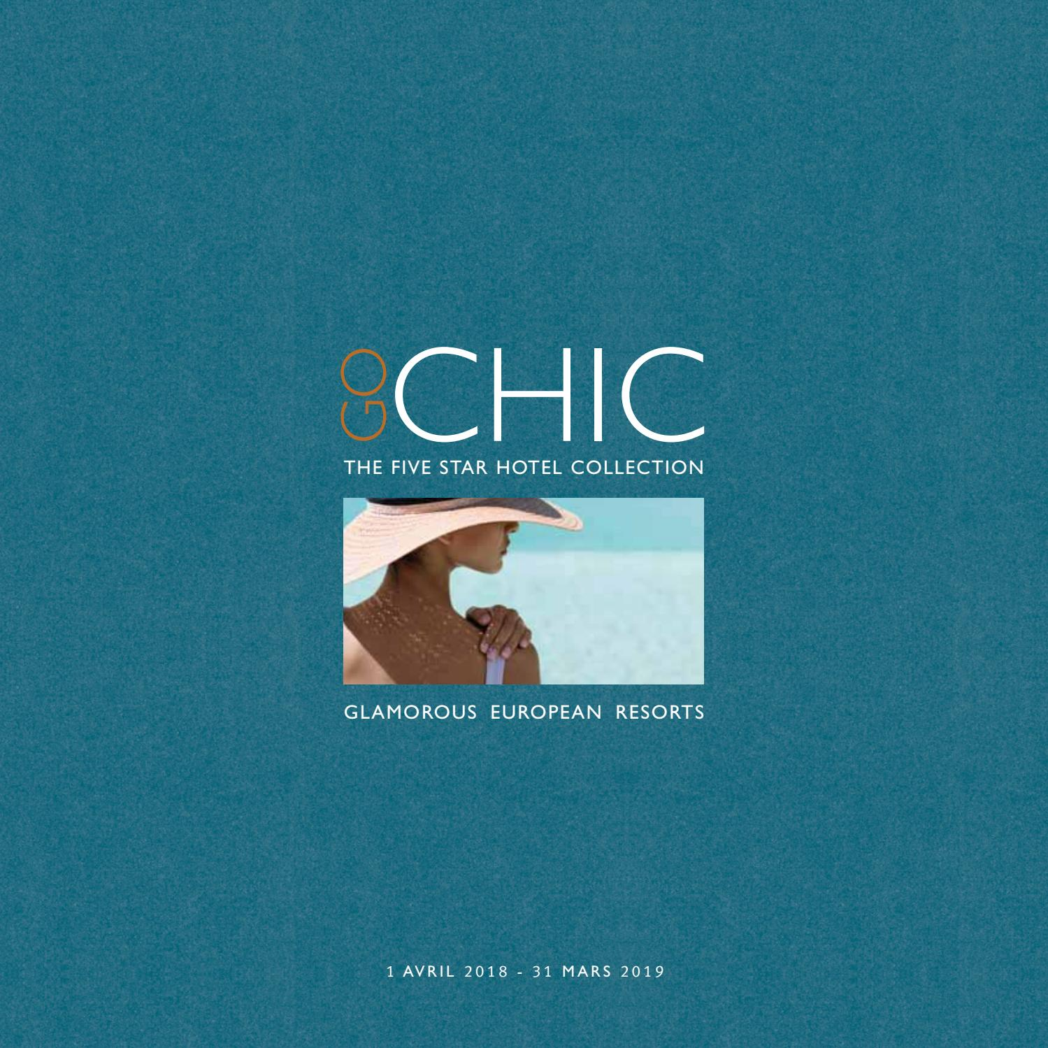 Go Chic Resorts 1819 Fr By W247 Be Issuu