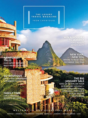 The January sale mag 2018 from Caribtours by Caribtours - issuu