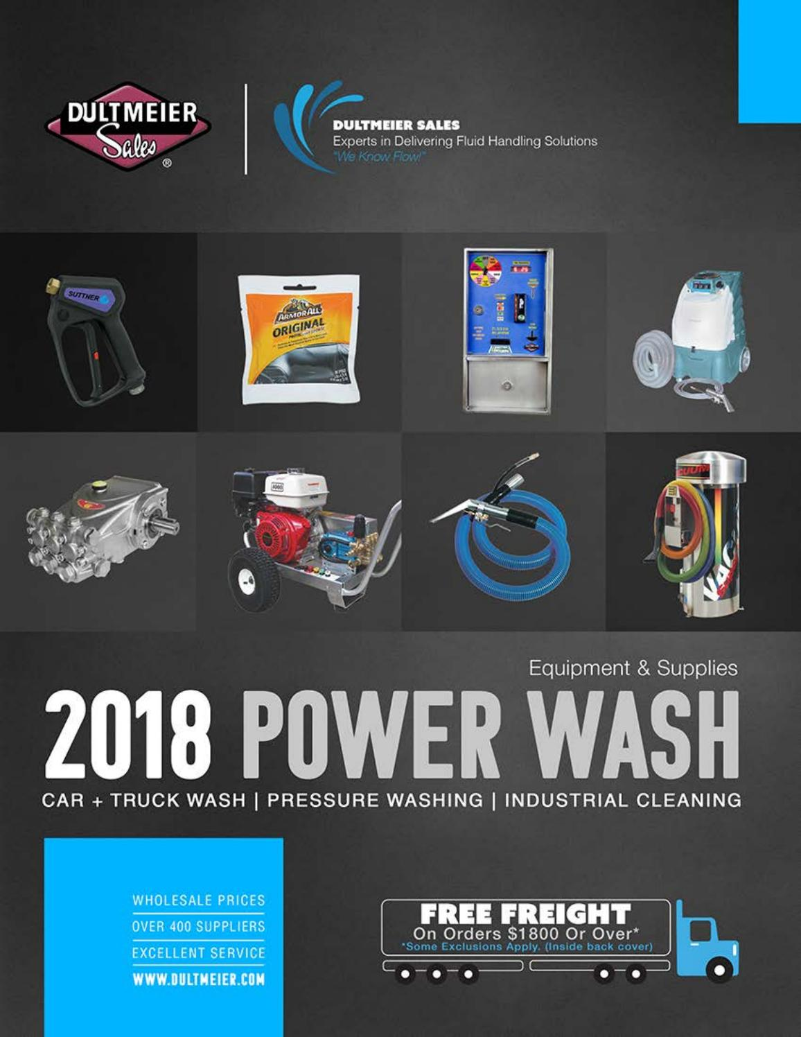 Dultmeier Sales 2018 Carwash Equipment And Supplies Catalog By St51 Solenoid Starter Switch Wiring Diagram Issuu