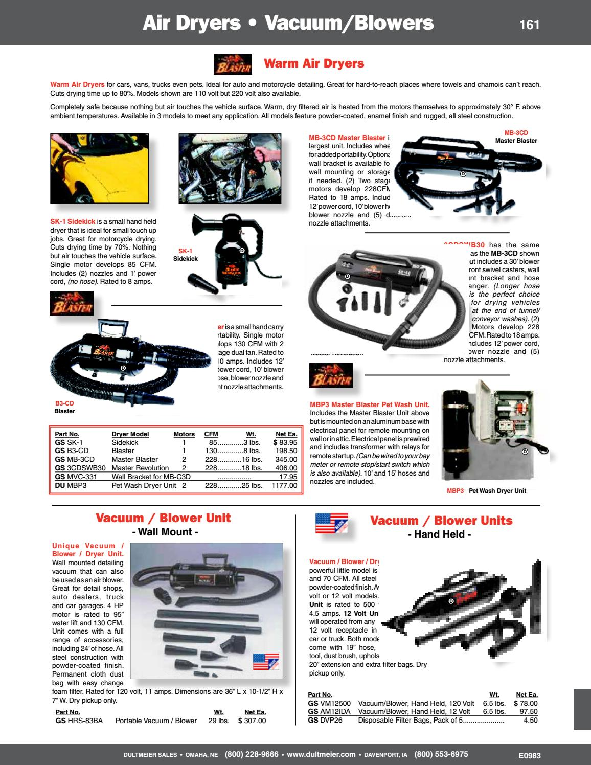 Dultmeier Sales 2018 Carwash Equipment And Supplies Catalog By