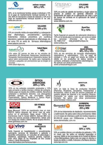 Folleto de Descuentos Empresariales by Universidad Tecnológica de ... 8d4bee39e6