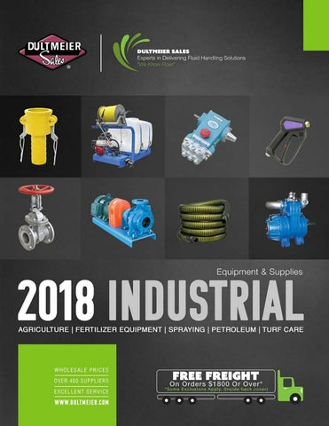Dultmeier Sales | 2018 Industrial Equipment & Supplies