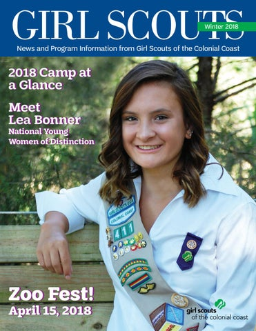 408f09f03f92 GSCCC Magazine - Winter 2018 by Girl Scouts of the Colonial Coast ...