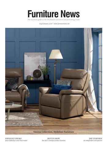 the essential guide to the uk domestic furniture and furnishings trade 346 january 2018 www furniturenews net