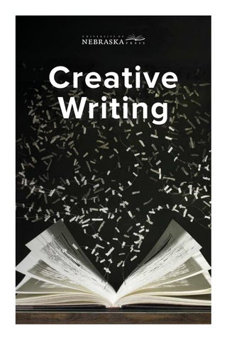 University Of Nebraska Press Creative Writing 2018 By