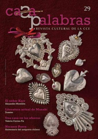85b5c3e0976e Revista Casapalabras N 29 by Revistas de la Casa de la Cultura ...