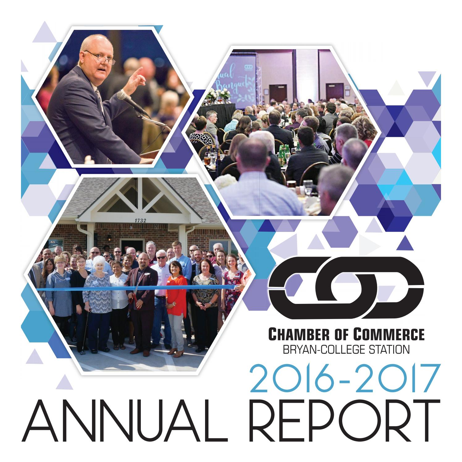 2016 2017 Chamber Report By The Eagle Advertising