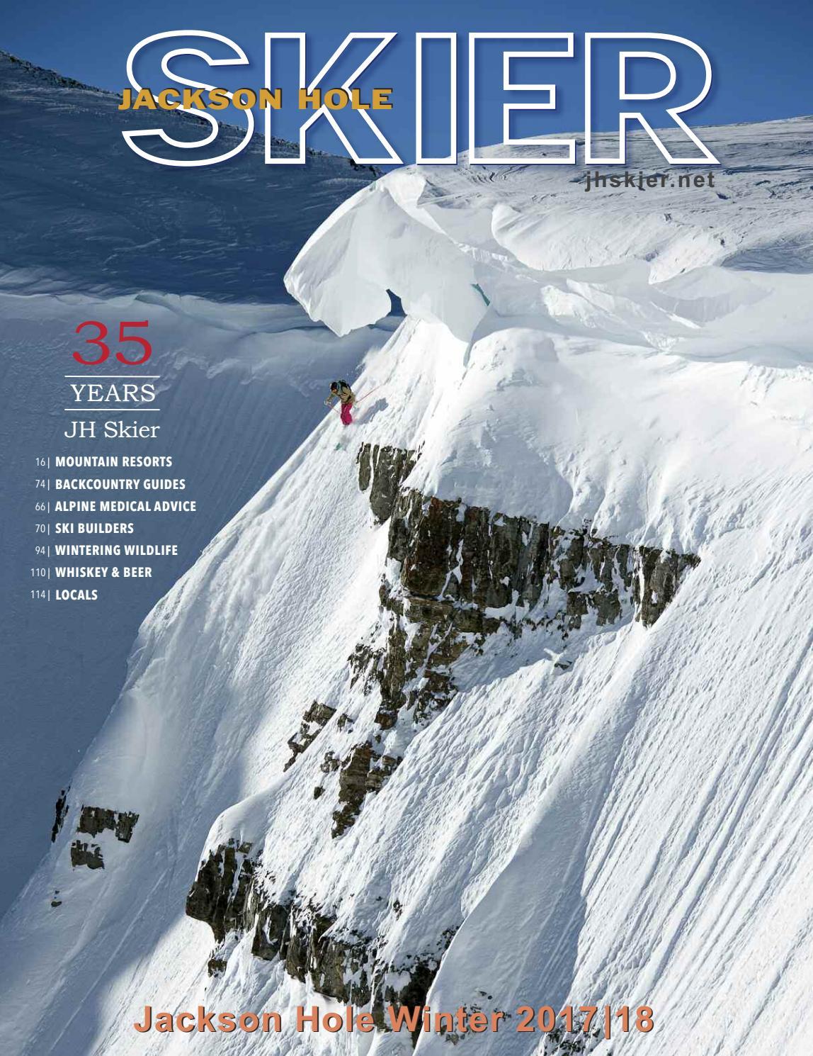 Jackson Hole Skier Magazine 2018 by Bob Woodall - issuu d7c64ad42