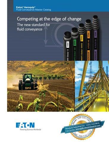 Eaton Aeroquip Fluid Conveyance Master Catalog Hydraulic