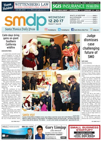 Thursday, December 7, 2017 by Santa Monica Daily Press - issuu