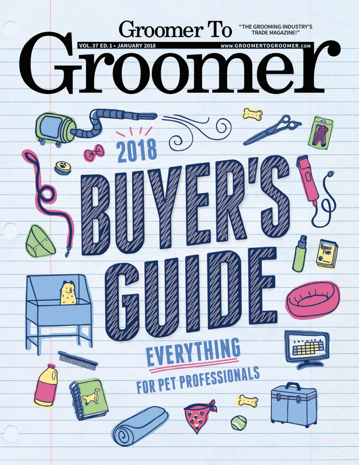 Groomer To Groomer January 2018 By Barkleigh Productions Issuu